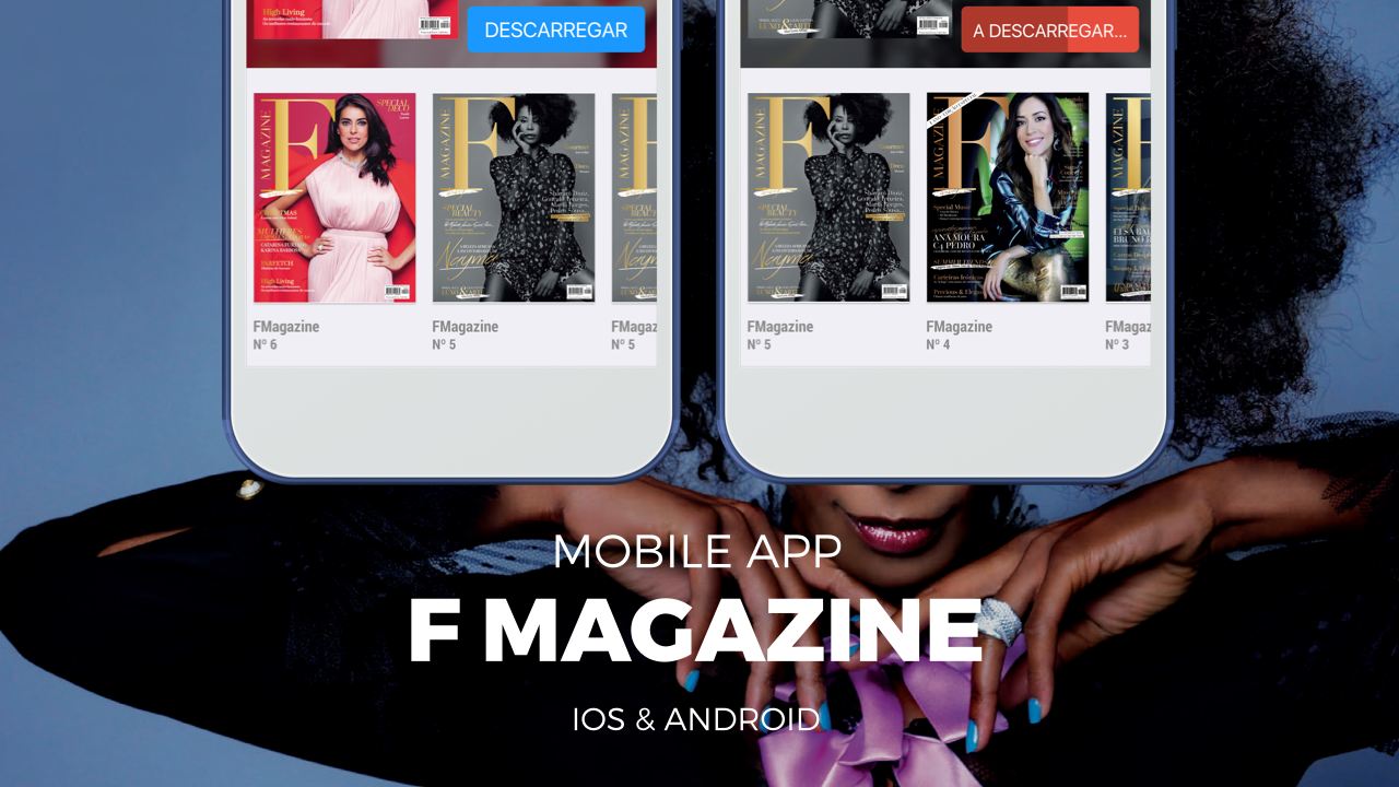 F Magazine Luxury launches mobile application with direct link to advertiser pages