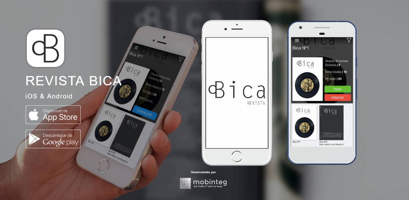 BICA arrives to mobile, with mobinteg