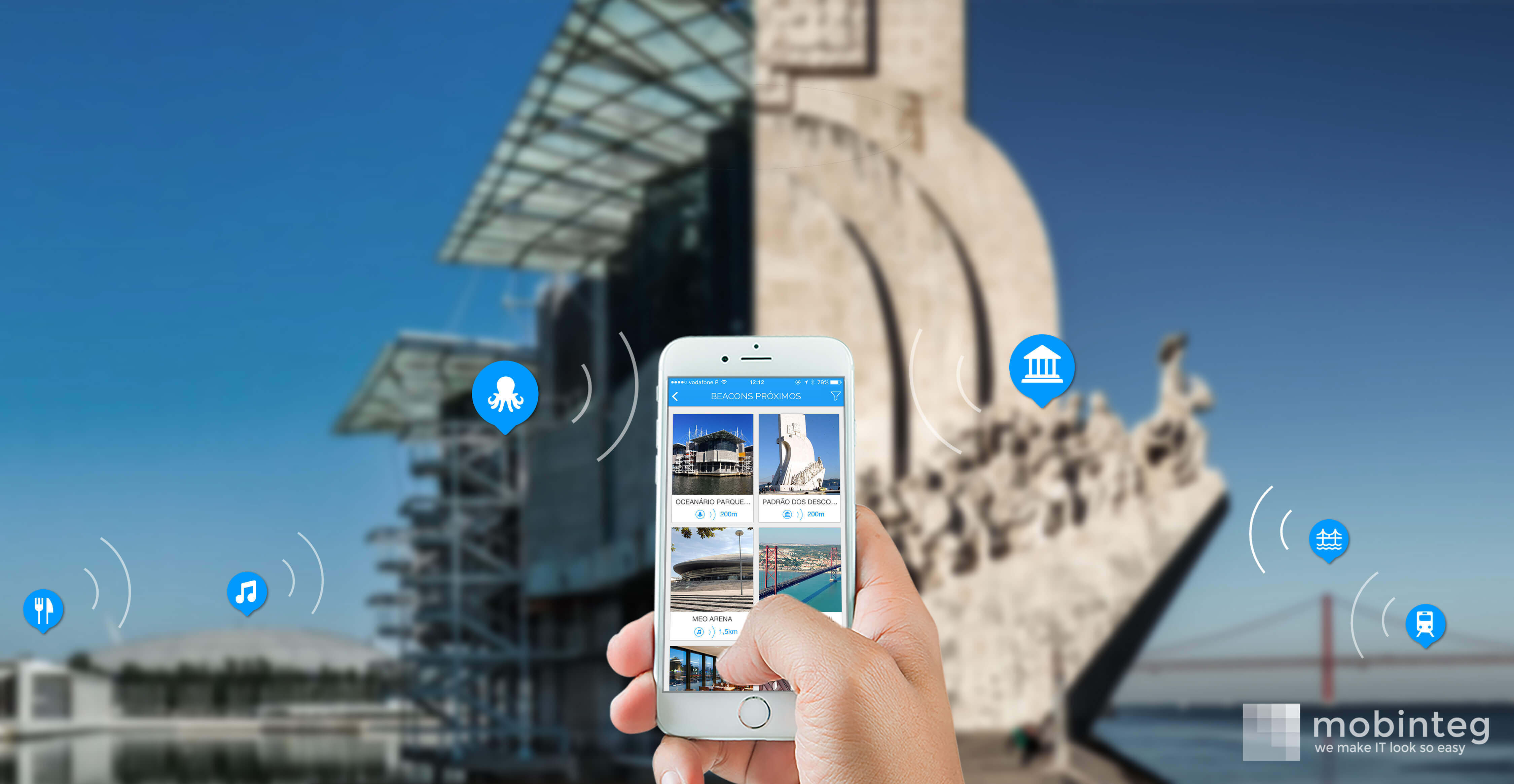 Web Summit: Portuguese 'App' shows destinations in an interactive way