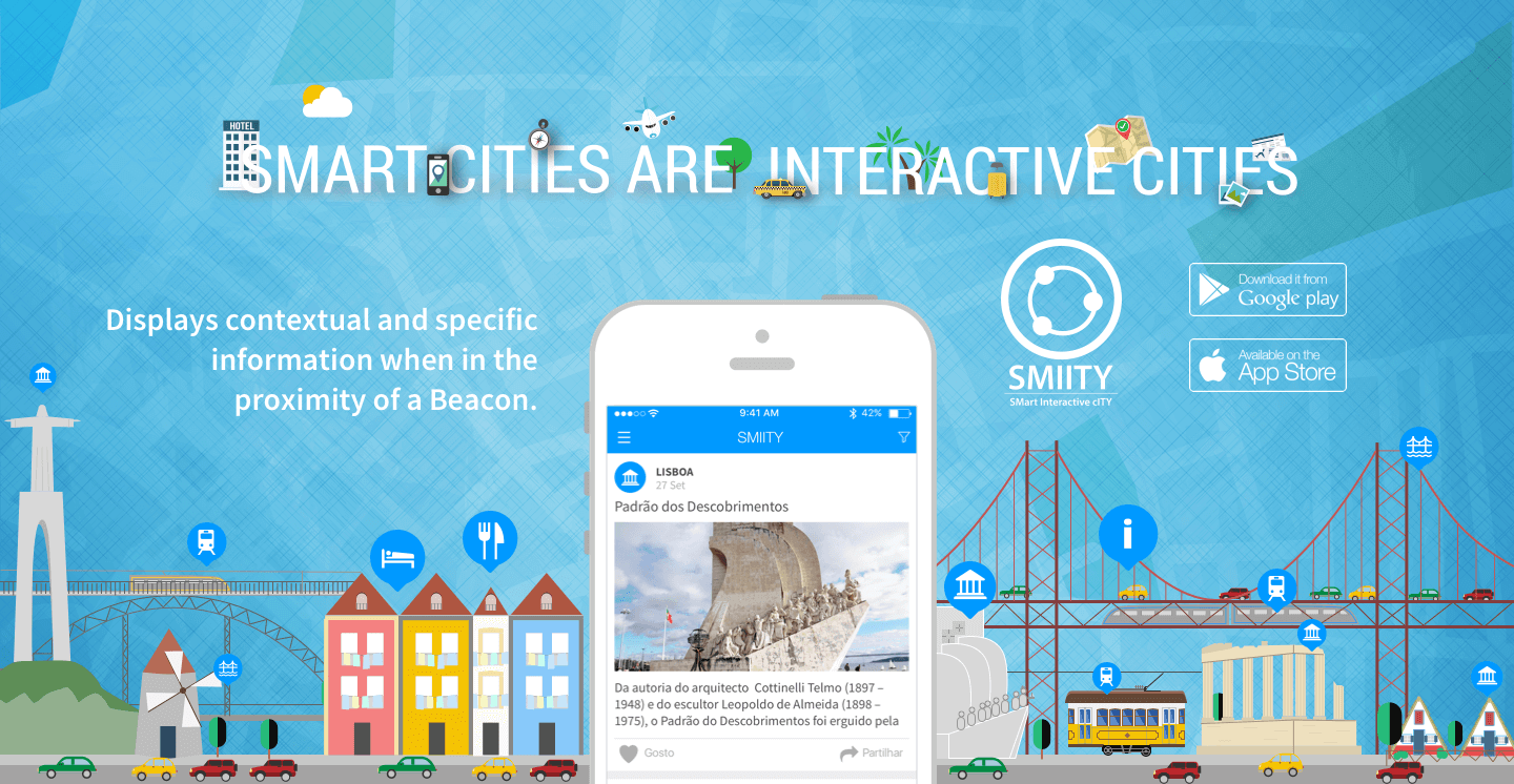 SMIITY was elected app of the day by Tek.SAPO
