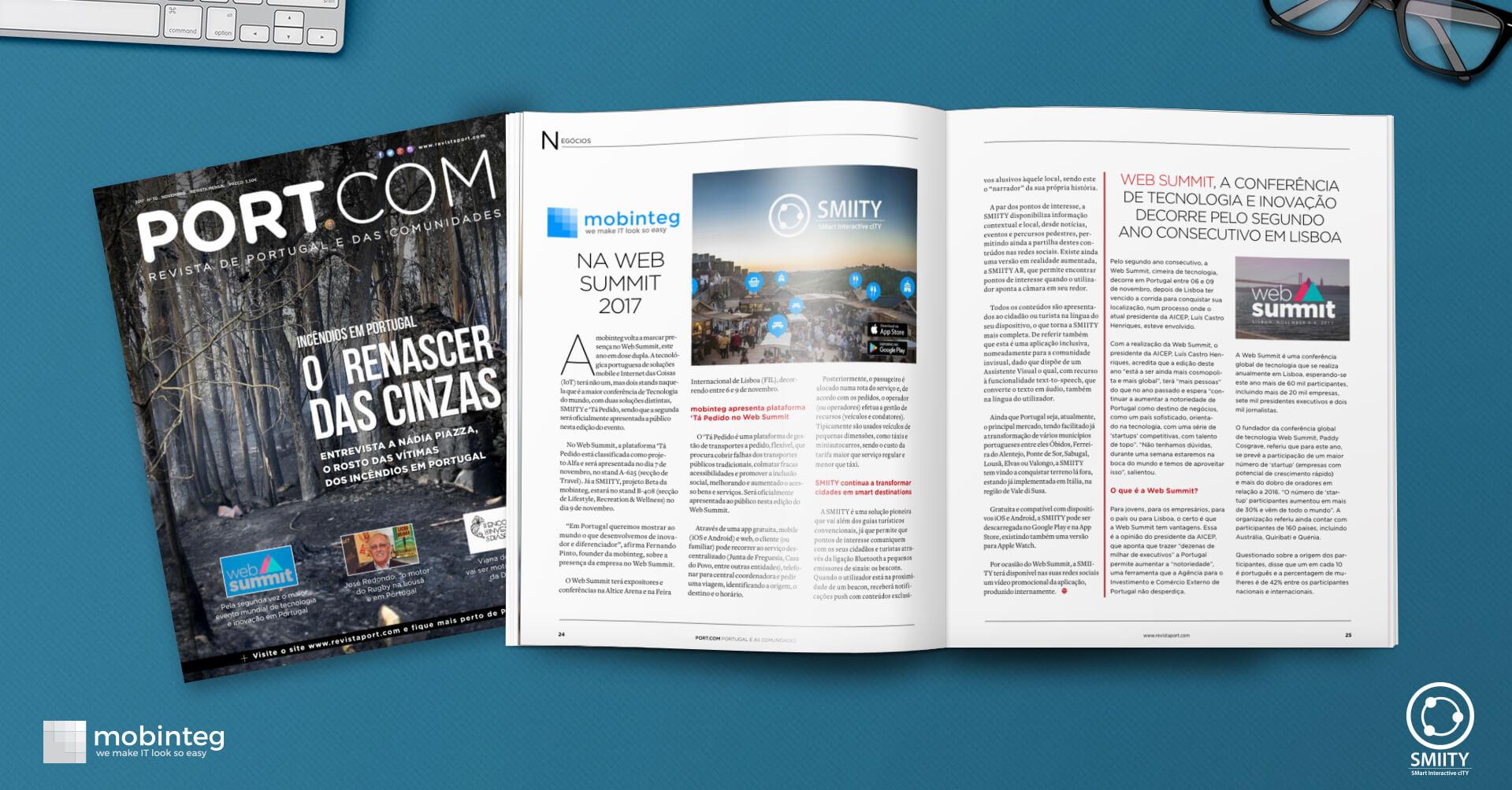 mobinteg highlighted in Revista Port.com