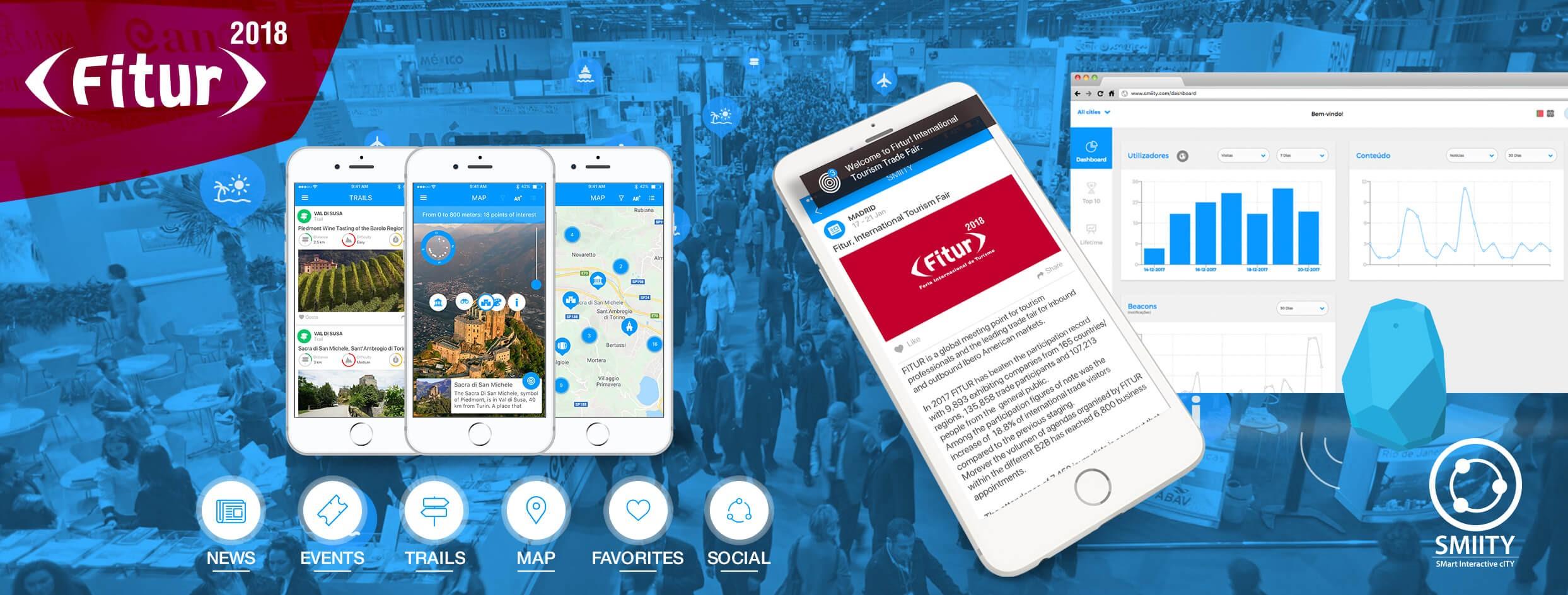 """Melhor app """"guia turística"""" é portuguesa. É SMIITY"""