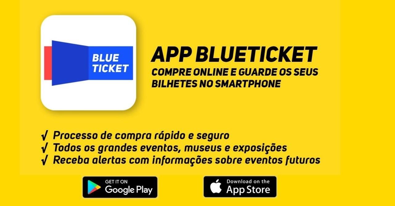 Ainda não conhece a nova App da Blueticket?